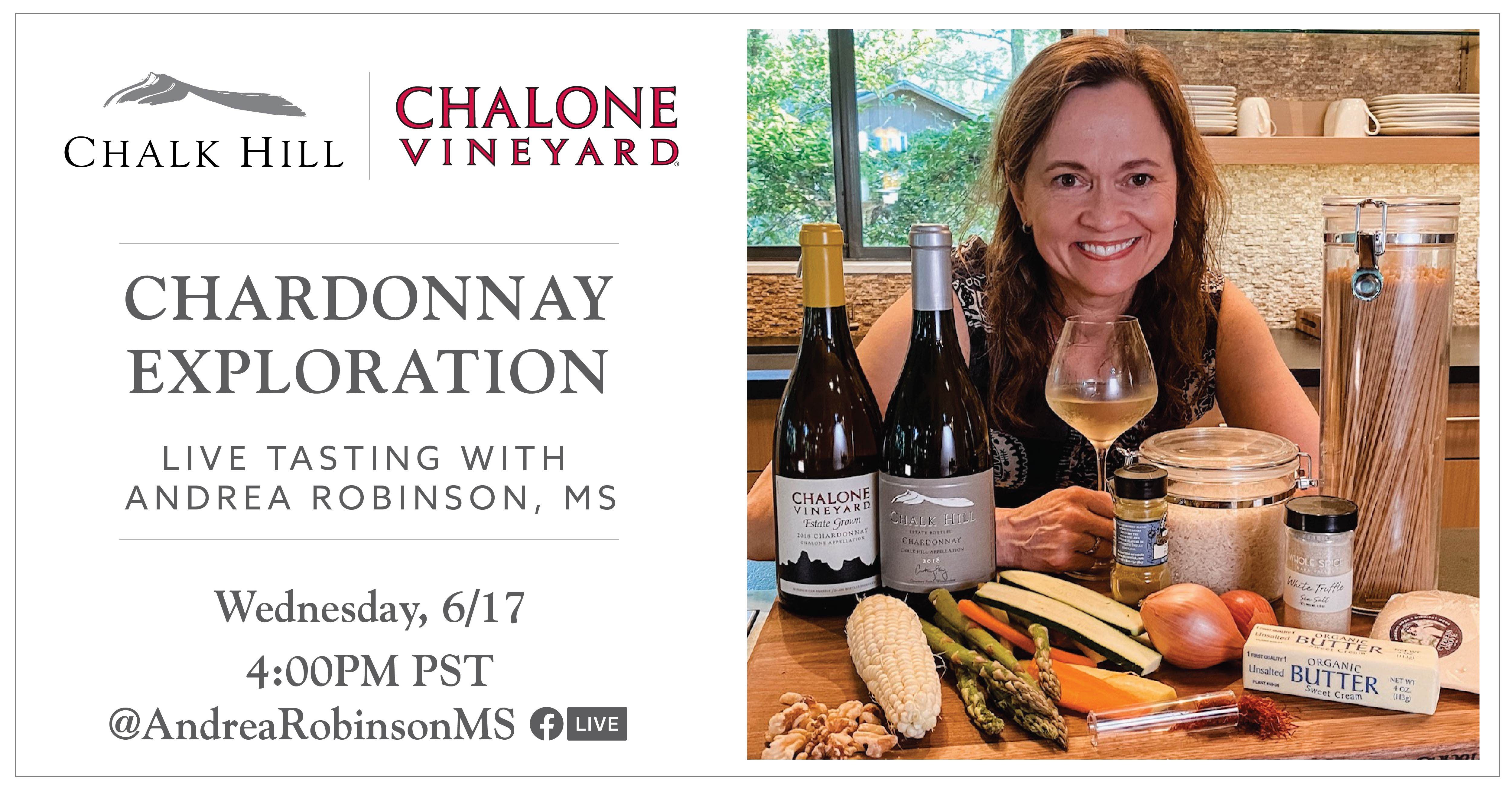 Chalk Hill Live Tasting with Courtney Foley & Andrea Robinson