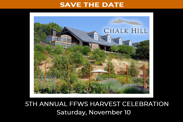 Save the Date for our 5th Annual Foley Food & Wine Society Harvest Celebration