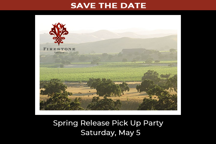 Firestone Spring Release Pick Up Party