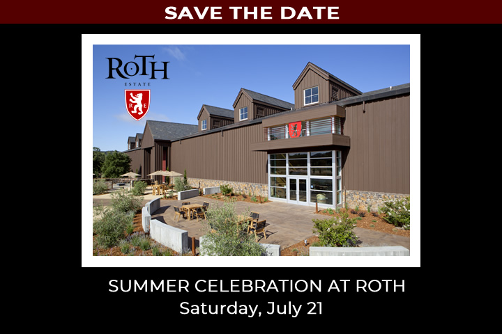 Save the Date for the Summer Celebration at Roth Saturday, July 21