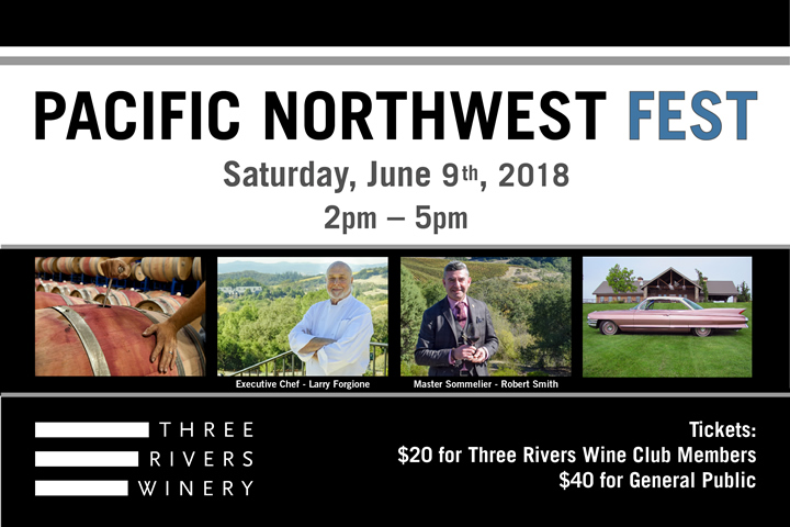 Pacific Northwest Fest at Three Rivers - June 9, 2018 - 2-5pm