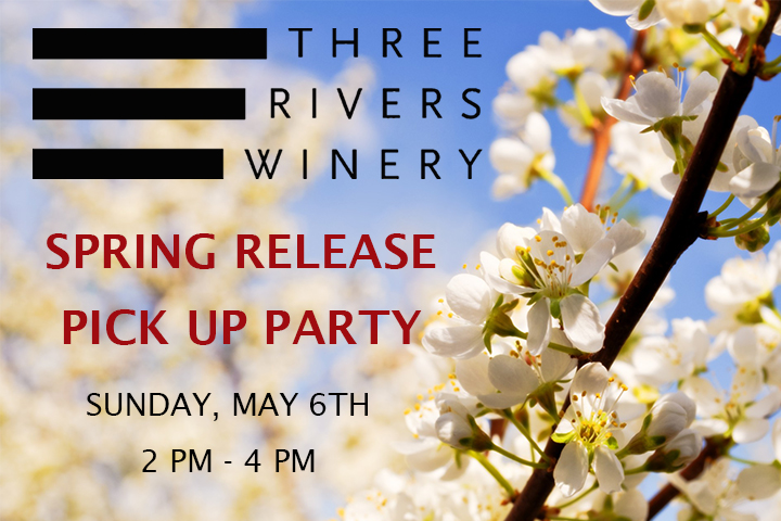 Three Rivers Wine Club Pick Up Party