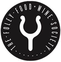 FFWS Logo - Oarlock symbol with The Foley Food & Wine Society Written