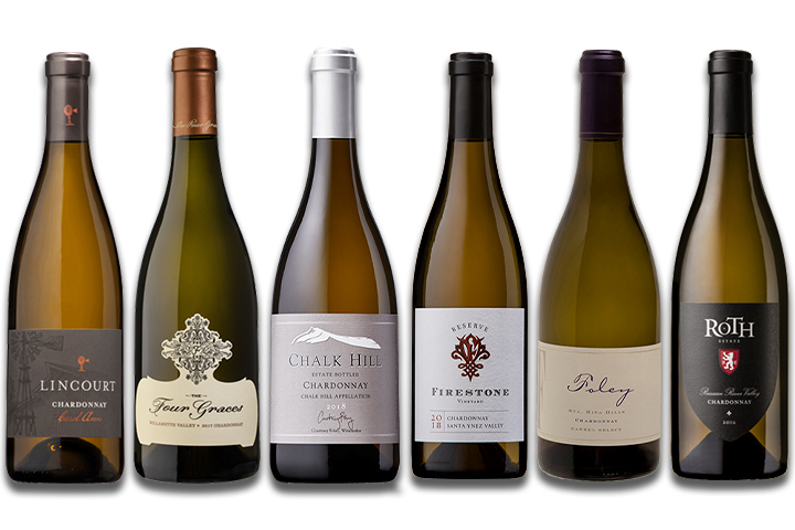 6-Pack Luxury Chardonnays