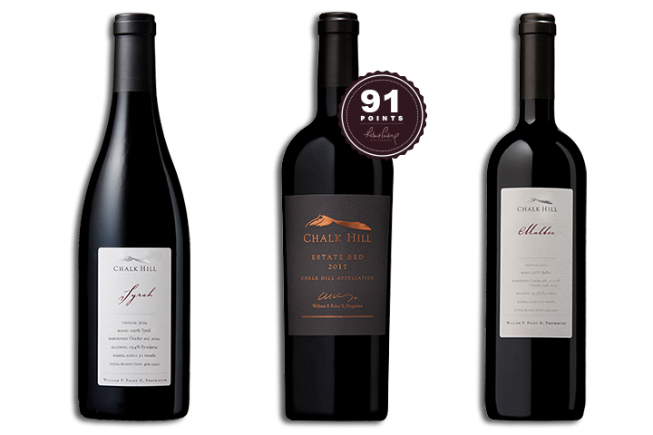 Chalk Hill Red Wine 3-Pack