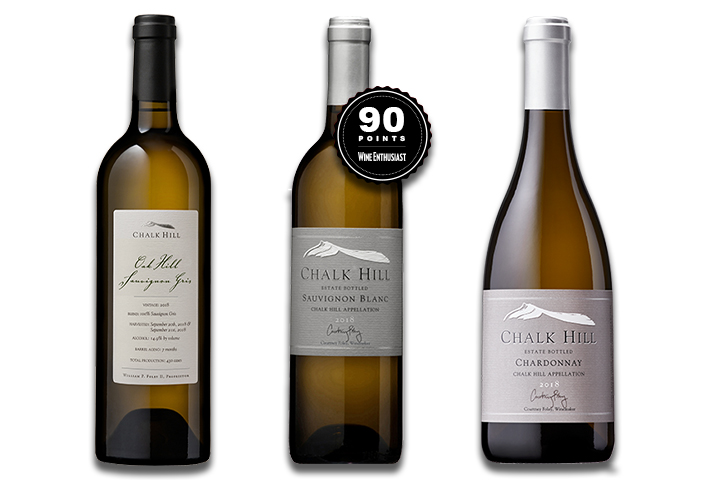 Chalk Hill White Wine 3-Pack