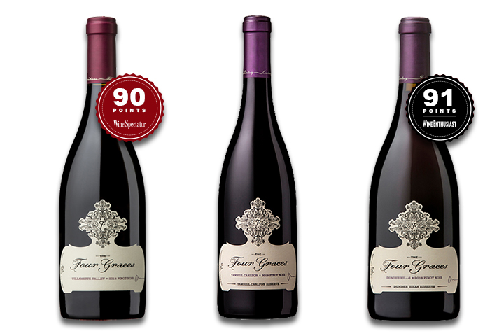 The Four Graces Red Wine 3-Pack