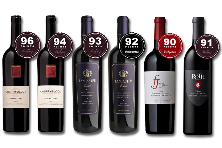 6-Pack Luxury Cabernets