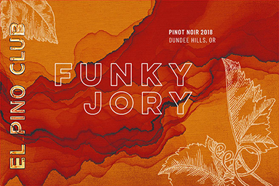Funky Jory Front Label