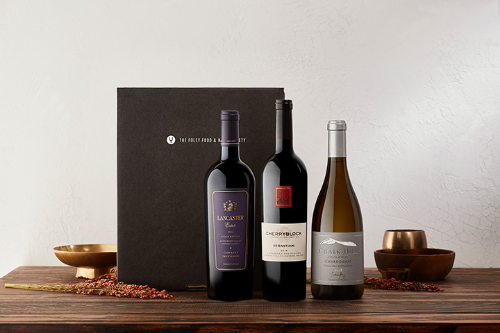 Curated Wine Gift Sets by The Foley Food & Wine Society