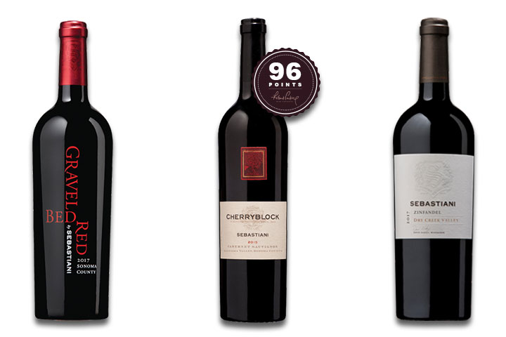 Sebastiani Red Wine 3-Pack