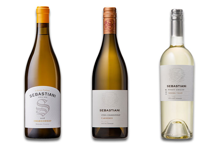 Sebastiani White Wine 3-Pack