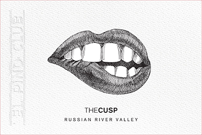The Cusp Front Label