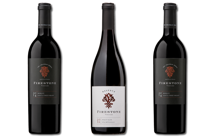 Firestone Cellar Club - 3 Bottle Red Wines Only