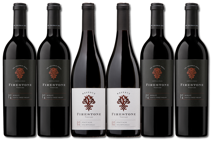 Firestone Cellar Club - 6 Bottle Red Wines Only