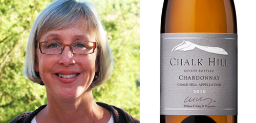 Lisa Bishop Forbes, winemaker Chalk Hill Estate