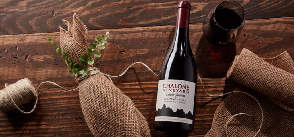 Chalone Wine and Wrapping Supplies