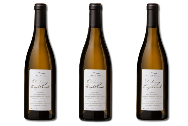 3 Bottles of white wines from Chalk Hill