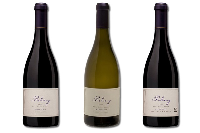3 Bottles of mixed red and white wines from Foley Estates