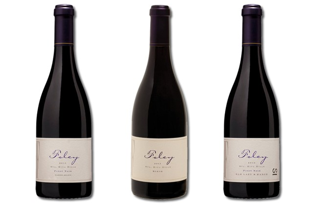 3 Bottles of red wines from Foley Estates