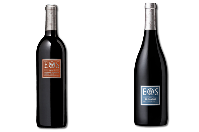 2 Bottles of red wine from Eos