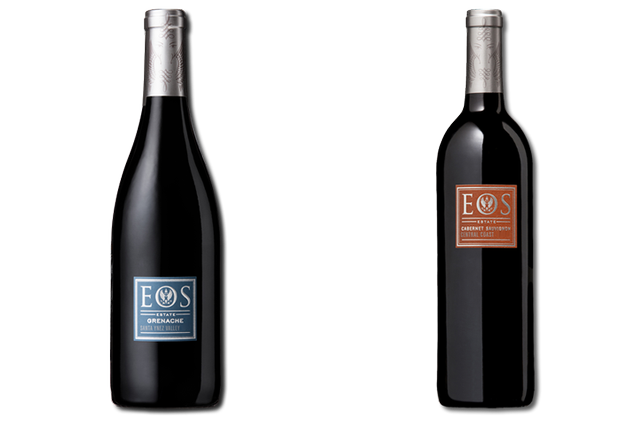 2 Bottles of red wines from Eos