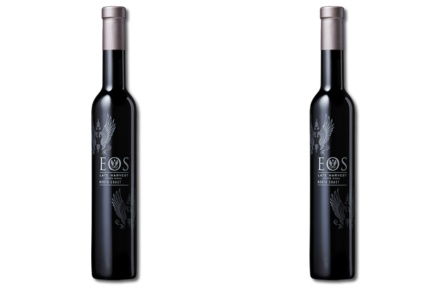 2 bottles of Eos sweet wines