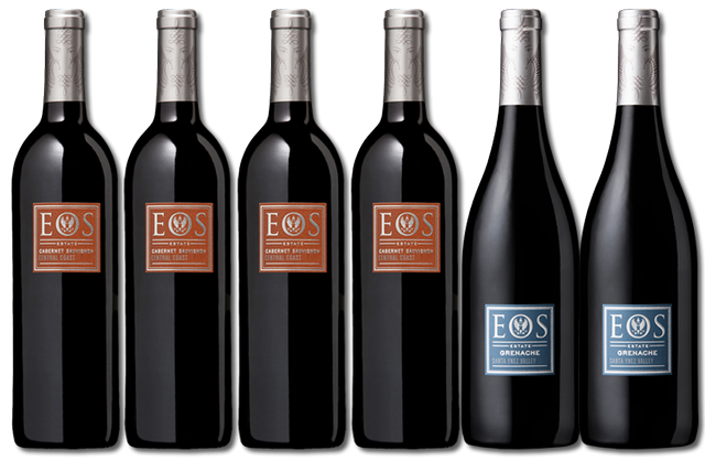 6 Bottles of red wines from Eos