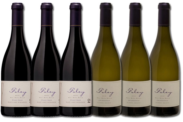 6 Bottles of mixed red and white wines from Foley Estates