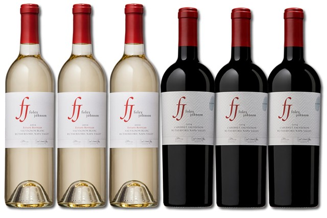 6 Bottles of mixed red and white wines from Foley Johnson
