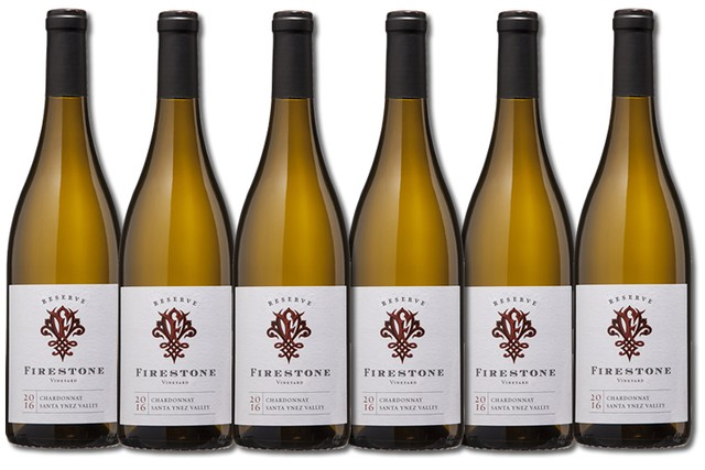 6 Bottles of white wines from Firestone Vineyard
