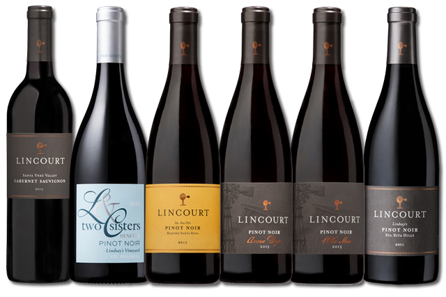 6 Bottles of red wines from Lincourt Vineyards