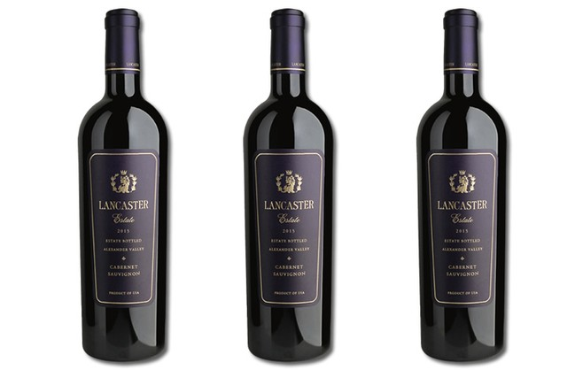 3 Bottles of Red Wine from Lancaster Estate in Alexander Valley