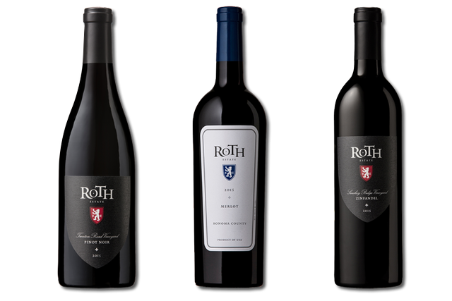 3 Bottle of red wine from Roth Estate