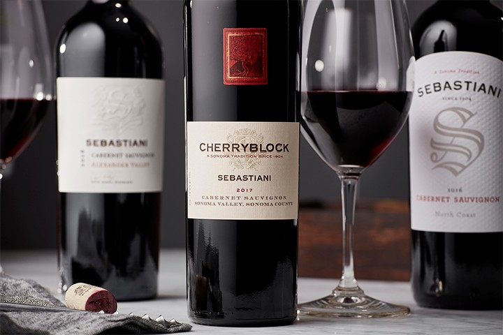 Shop our coveted cabernet release - the 2017 Sebastiani Cherryblock