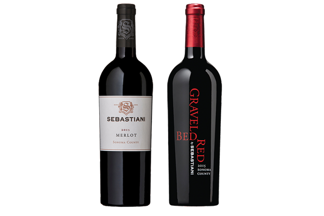 2 Bottles of Red Wine by Sebastiani
