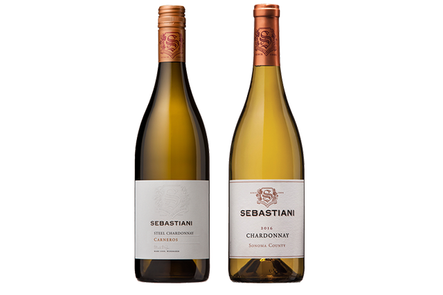 2 Bottles of White Wine by Sebastiani