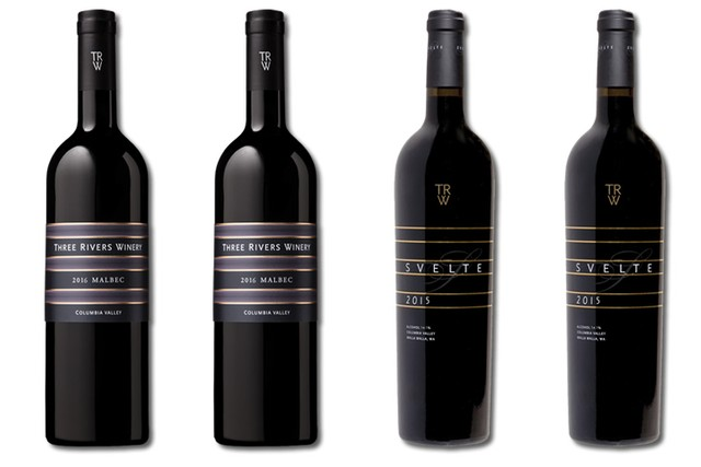 4 Bottles of Red Wine from Three Rivers Winery