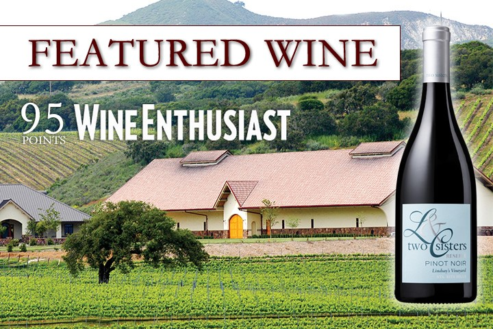 Featured Wine - Two Sisters Pinot Noir