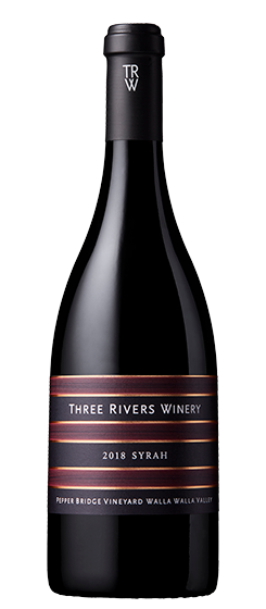 2018 Three Rivers Pepper Bridge Vineyard Syrah, Walla Walla Valley