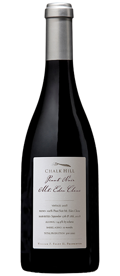 2018 Chalk Hill Mt. Eden Clone Pinot Noir, Chalk Hill AVA