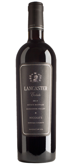 2014 Lancaster Nicole's Proprietary Red, Alexander Valley