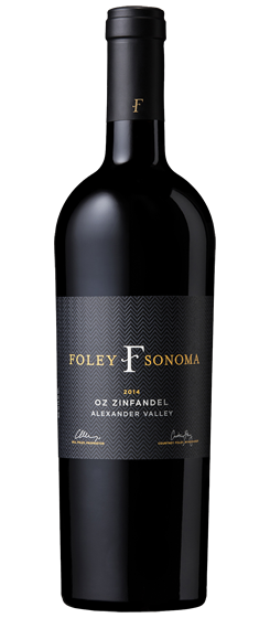 2014 Foley Sonoma OZ Zinfandel, Alexander Valley Image
