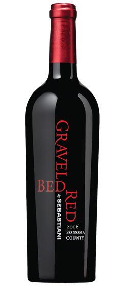 2016 Sebastiani Gravel Bed Red, Sonoma County Image