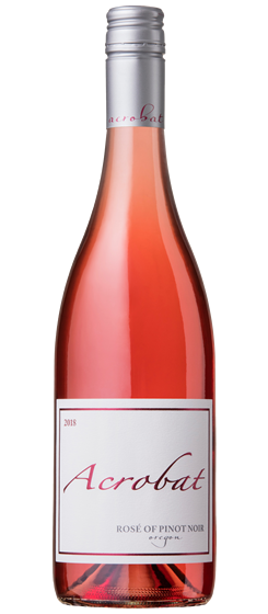 2018 Acrobat Rosé of Pinot, Oregon