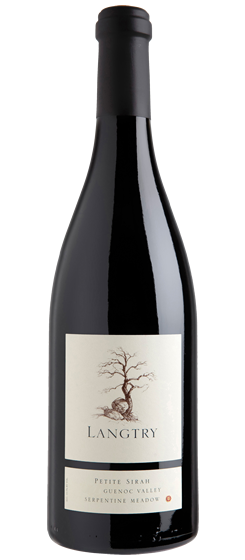 2015 Langtry Serpentine Meadow Petite Sirah, Guenoc Valley AVA