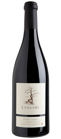 2016 Langtry Serpentine Meadow Vineyard Petite Sirah, Guenoc Valley AVA