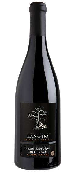 2017 Langtry Double Barrel Aged Petite Sirah, Guenoc Valley AVA