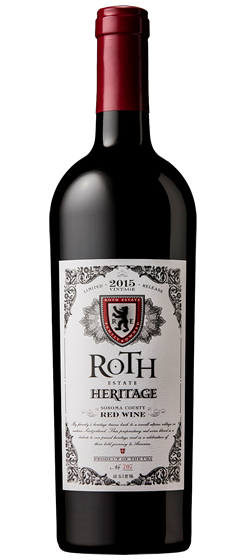 2015 Roth Heritage Red, Sonoma County
