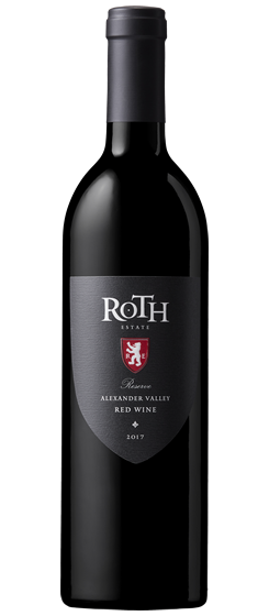 2017 Roth Reserve Red, Alexander Valley